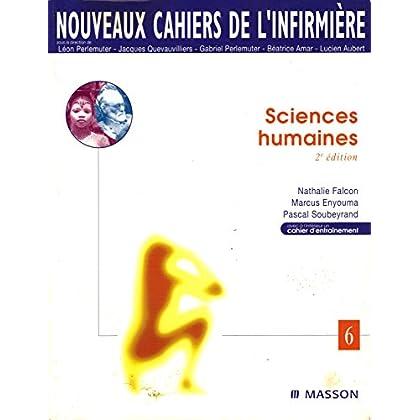 Nouveaux cahiers de l'infirmière, tome 6 : Sciences humaines