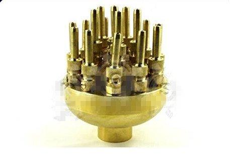 Hanheng Instrument Co. ? 2,5 cm DN25 réglable haute qualité 3 couches Fontaine Buse réglable Valve Bassin Douchette