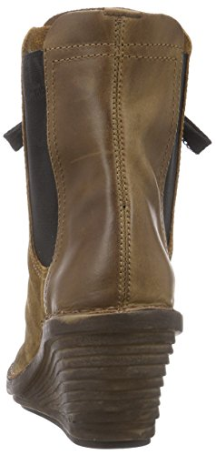 FLY London Suzu, Bottes femme Marron (Camel/camel 003)