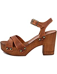 MARRADINI Damen - Sandale - Glattleder - 911_250_Boston_Cuoio