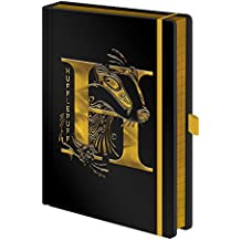 Offiziell Harry Potter Hufflepuff House Crest Premium Hardcover Notizbuch