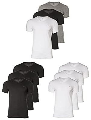 "DIESEL 3 Pack Men's T-Shirt, V Neck, ""UMTEE-JAKEVTHREEPACK"" - color choice"