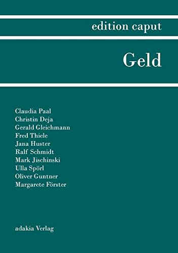 edition caput I: Geld