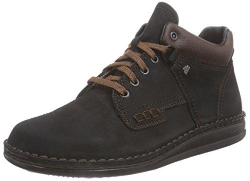 Soft Comfort Schuhe (Finn Comfort Linz, Unisex-Erwachsene, Schwarz (Schwarz/Braun), 40 EU)