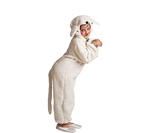 Disfraz de Oveja blanca para niños
