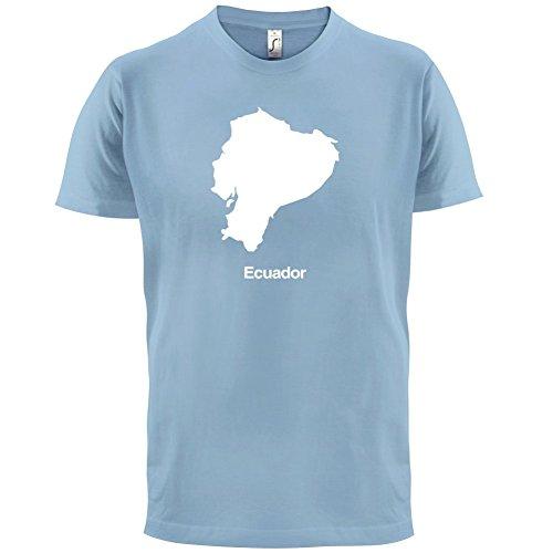 Ecuador / Republik Ecuador Silhouette - Herren T-Shirt - 13 Farben Himmelblau