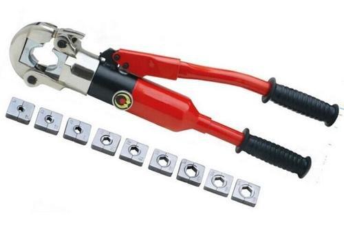 Gowe Outil à sertir hydraulique à sertir hydraulique à main à sertir hydraulique à sertir Gamme CU 10–240 mm²