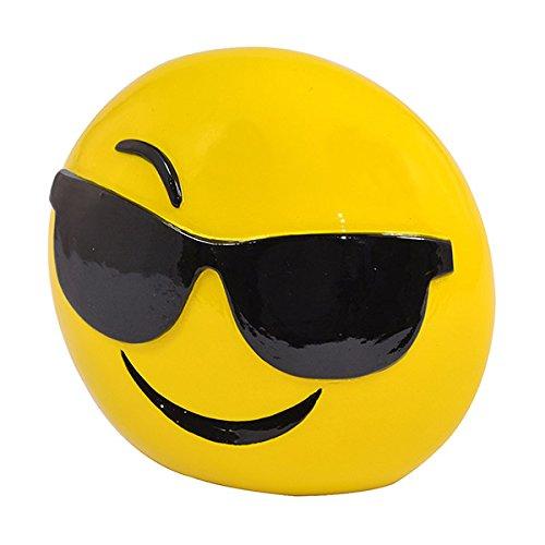 Xpressions Emoticons Emoji-Gesicht mit Sonnenbrillen-Form