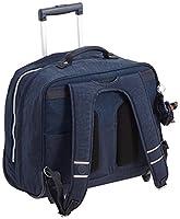 Kipling - CLAS DALLIN - Wheeled Backpack - True Blue - (Blue)