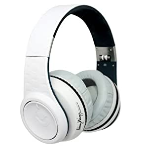Fanny Wang 3000 Series Over Ear Noise Cancelling Headphone with Remote - White