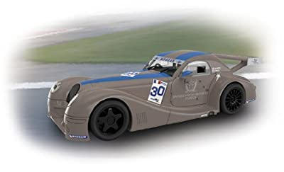 "Scalextric Original - Morgan Aero 8 ""Banque Baring"" - coche slot analógico (A10115S300) de Fábrica de Juguetes"