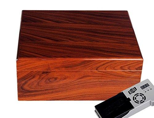 Cigar Oasis Ultra Savoy by Ashton Humidor Rosewood medium inkl. Lifestyle-Ambiente Tastingbogen