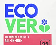 Ecover All in One diskmaskinstabletter 22 stycken