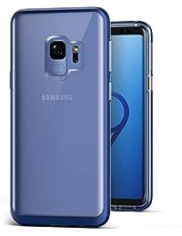Samsung Galaxy S9Fall, VRS Design Clear Dual Layer Schutzhülle Handy Fall [Deep Sea Blau] transparent Slim Premium stoßfest TPU Silikon | schwer Pflicht PC Bumper Cover [Crystal Bumper] für Samsung S9