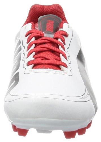 Puma evoSPEED 5.2 FG Jr, Scarpe da calcio unisex bambino nero (Schwarz (white-aged silver-high risk 03))