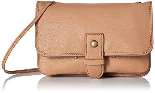 Lucky Brand Damen Convertible Wallet Liza, wandelbare Geldbörse, Dark Rugby Tan/ 692, Einheitsgröße