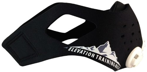 Training Mask Trainingshilfe Elevation Mas 2.0, schwarz, 70 - 110kg, 50-0151 Image