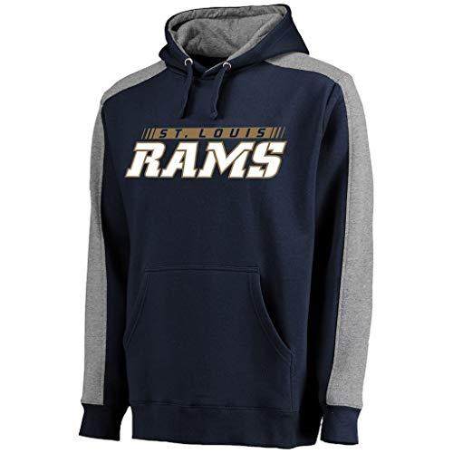 ng Anzug St. Louis Rams Pullover Langarm lässig Lauftraining Kleidung (Size : S) ()