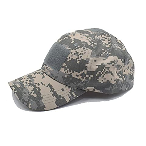 QMFIVE Outdoor Multicolor Sunscreen Chapeau Hat pour Tactical Airsoft Paintball Climb Camping (ACU)