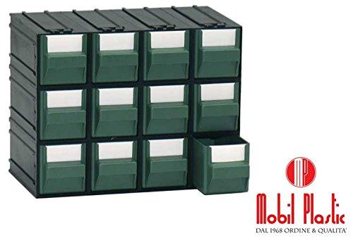Cassettiere Mobil Plastic.Cassettiere Mobil Plastic A1 Composte Da 12 Cassetti