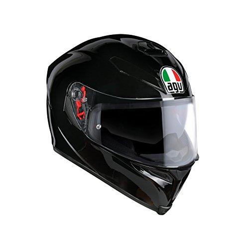 AGV Casco Moto K-5 S E2205 Solid PLK, Nero, L