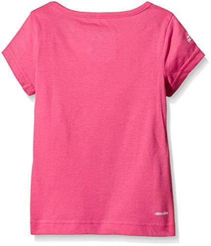 Adidas maillot à manches courtes pour fille essential Rosa (Rosa)