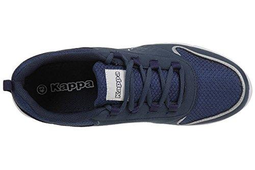 Kappa Amora, Baskets Basses Mixte Adulte 6710 navy/white