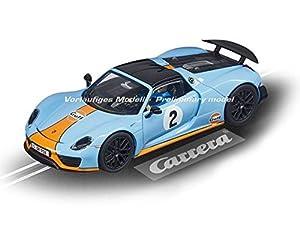 Carrera-Porsche 918 Spyder Gulf Racing No.02, Multicolor (Stadlbauer 20027549)