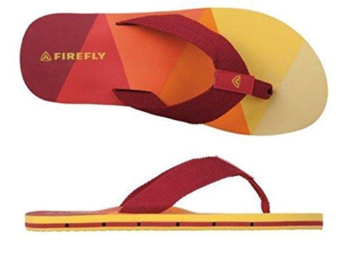 Firefly Zehensandale Charlie IV M Rot / Orange / Gelb Rot / Orange / Gelb