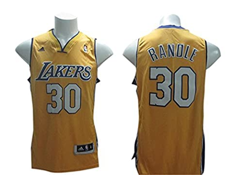 Lakers 30 Randle Yellow New Revolution 30 Jerseys Size-M by Nahuel