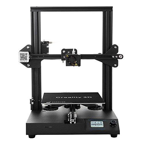 Creality 3D Tienda Directa Impresora 3D CR-20 Full Metal MK10 24V con Extruder y recuperar una impresión tras un corte de energía, 220x220x250mm Tamaño de impression