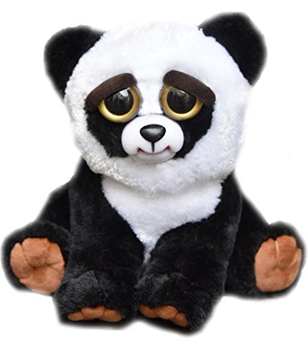 feisty-pets-by-william-mark-black-belt-bobby-adorable-215cm-plush-stuffed-panda-that-turns-feisty-wi