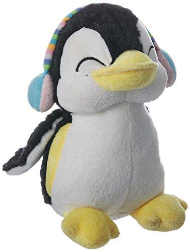 Dimpy Stuff Penguin with Ear Muffs, Blue (20cm)