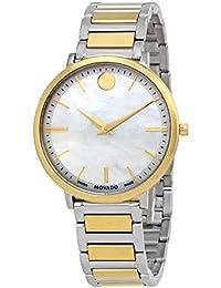 Movado Ultra Slim Reloj de Mujer Cuarzo Suizo 35mm analógico 0607171