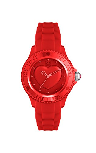 Ice-Watch - ICE love 2010 Red - Women's wristwatch with silicon strap - 013725 (Small)