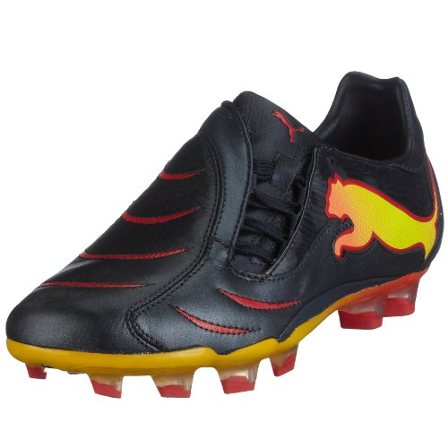 POWERCAT 2.10 TRICKS FG - Chaussures Football Homme Puma Noir