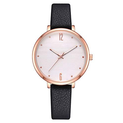 HZBIOK Uhren Damen Minimalist Style Neutral Uhren Mode Uhr Männer Frauen Quarzuhr Koreanische Version Kleid Armbanduhren (Koreanische Tracht Für Männer)