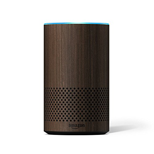 Cover decorativa per Amazon Echo (2ª generazione), finitura noce