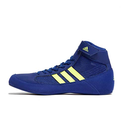 adidas Havoc Junior Wrestlingschuhe, Marineblau, 38 -