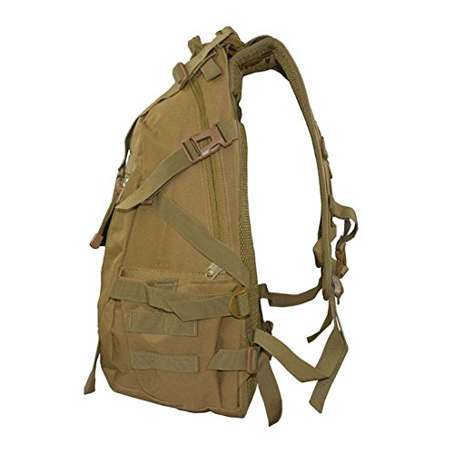 Zaino 35L Borsa tattica di camuffamento Sport Viaggio Escursioni Tempo libero Zainetto all'aperto , ArmyGreen jungle digital