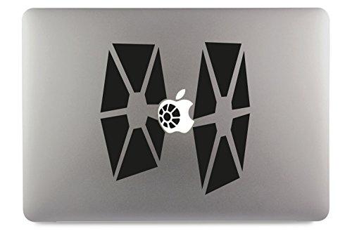 Tie Fighter Groß Starwars Aufkleber Skin Decal Sticker geeignet für Apple MacBook und alle Anderen Laptop und Notebooks (13