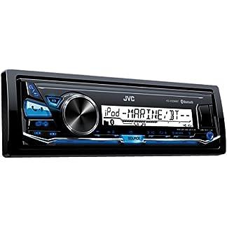 JVC-KD-X33MBT-Digital-Media-Receiver-fr-maritimen-Einsatz-Bluetooth-Technologie-Front-USBAux-Eingang-schwarz