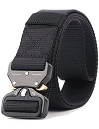 GRULLIN Tactical Rigger MOLLE Cinturón Hebilla de metal de liberación rápida Compacto militar Forma de onda Web Nylon Deporte al aire libre EDC CQB Banda de cintura