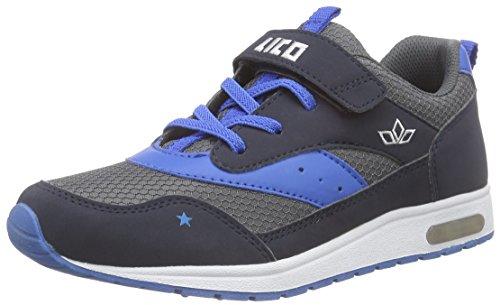 Lico Cool Vs, Baskets Basses Garçon Gris - Grau (anthrazit/blau)