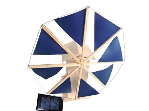 CEBEKIT - Molino Solar de 8 aspas, Kit didáctico (Fadisel C-6142)