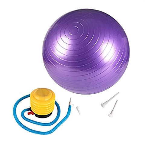 Yoga Ball, Beschoi Anti-Burst (200kg) PVC Fitness Exercise Gym Ball/Swiss