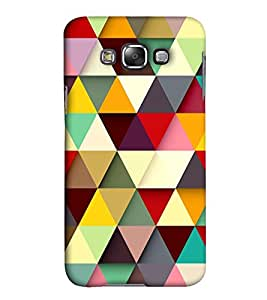 EagleHawk Designer 3D Printed Back Cover for Samsung Galaxy E7 - D310 :: Perfect Fit Designer Hard Case