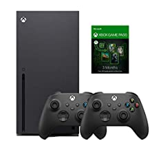Xbox Series X with 2 Controllers and 3 Months Gamepass