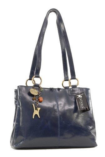 catwalk-collection-big-tote-shoulder-bag-bellstone-vintage-leather-navy-blue