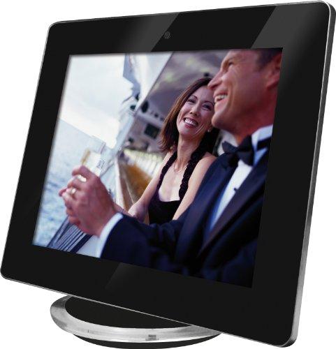 Rollei Pictureline 8200 Digitaler Bilderrahmen (20,3 cm (8 Zoll) TFT-LCD-Display, 800×600 Pixel, SD/SDHC/MMC/MS-Kartenslot, USB 2.0) schwarz